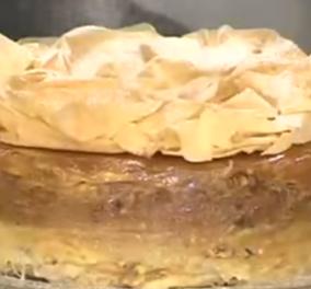 Λιγοθυμήστε! Ο Στέλιος Παρλιάρος φτιάχνει κανταΐφι - τούρτα & εσείς ακολουθείτε στο βίντεο τα χρυσά χέρια του  - Κυρίως Φωτογραφία - Gallery - Video