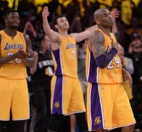 Kobe Bryant: Το συγκινητικό αντίο του μπασκετμπολίστα που άφησε εποχή (Βίντεο) - Κυρίως Φωτογραφία - Gallery - Video