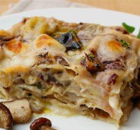 5 Σαρακοστιανά, χορτοφαγικά παστίτσια ! Με μανιτάρια ή κολοκύθια , γαρίδες ή μελιτζάνες - Κυρίως Φωτογραφία - Gallery - Video