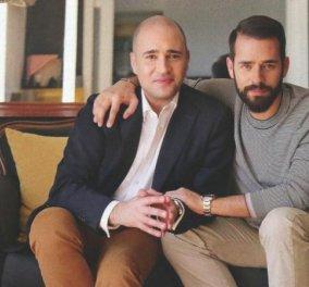 Ο όμορφος αδελφός Δημήτρης, του Κωνσταντίνου Μπογδάνου: Φωτογράφιση στο καλόγουστο διαμέρισμα του   - Κυρίως Φωτογραφία - Gallery - Video