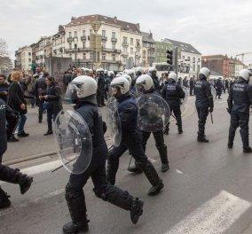 Βέλγιο: Επεισόδια με ακροδεξιούς διαδηλωτές και δεκάδες συλλήψεις στο Μόλενμπεκ - Κυρίως Φωτογραφία - Gallery - Video