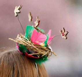 Τεράστια & τρελά καπέλα (φωτό) φόρεσαν οι Αγγλίδες στις ιπποδρομίες Grand National  - Κυρίως Φωτογραφία - Gallery - Video
