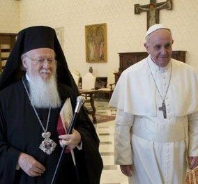 Στο πόδι η Λέσβος για τον Πάπα: Μαζί του στο νησί 25 αξιωματούχοι και 53 δημοσιογράφοι - Κυρίως Φωτογραφία - Gallery - Video
