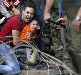 Νέα επεισόδια στην Ειδομένη: Τραυματίστηκε σοβαρά Σύρος πρόσφυγας - Τον χτύπησε βανάκι της αστυνομίας; - Κυρίως Φωτογραφία - Gallery - Video