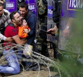 Θλίψη στην Ειδομένη: Πέθανε ο 49χρονος πρόσφυγας που έπεσε στο βανάκι της αστυνομίας την περασμένη Δευτέρα - Κυρίως Φωτογραφία - Gallery - Video