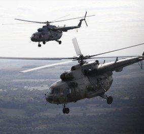 Συντριβή ρωσικού ελικοπτέρου στη Συρία - Νεκροί οι δύο πιλότοι - Κυρίως Φωτογραφία - Gallery - Video