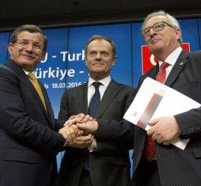 Τελεσίγραφο Νταβούτογλου: Βίζα έως τον Ιούνιο αλλιώς άκυρη η συμφωνία με την ΕΕ - Κυρίως Φωτογραφία - Gallery - Video