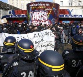 Παρίσι: Απίστευτο ξύλο, συλλήψεις & διαδηλώσεις νέων για τα εργασιακά- Φώτο & βίντεο    - Κυρίως Φωτογραφία - Gallery - Video