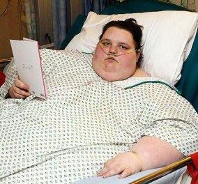 Η θλιβερή ιστορία της 19χρονης Georgia - Ζυγίζει 400 κιλά & έχει κλειστεί στο σπίτι! - Κυρίως Φωτογραφία - Gallery - Video