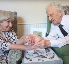 Love story of the day: 90χρονοι αρραβωνιάστηκαν μετά από 70 χρόνια - Τους είχε χωρίσει ο πόλεμος - Κυρίως Φωτογραφία - Gallery - Video