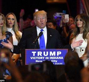 Ο Κρουζ εγκατέλειψε - Ο Τράμπ πιο κοντά στον Λευκό Οίκο: Ivanka, Lara, Melania πανηγύρισαν - Φώτο, βίντεο  - Κυρίως Φωτογραφία - Gallery - Video