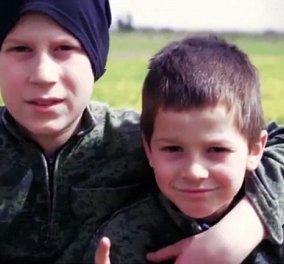 Βίντεο για γερά νεύρα – Ανήλικοι τζιχαντιστές εκτελούν Σύρους  - Κυρίως Φωτογραφία - Gallery - Video