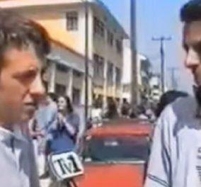 Το βίντεο που έχει γίνει viral: Πανελλαδικές του 1997 - Δείτε την αντίδραση του μαθητή που άφησε ιστορία  - Κυρίως Φωτογραφία - Gallery - Video
