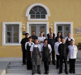 Made in Greece ο Γιώργος Χατζηγιαννάκης: Ο δημιουργός του πολυβραβευμένου εστιατορίου Σελήνη στη Σαντορίνη   - Κυρίως Φωτογραφία - Gallery - Video