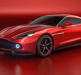 Η Aston Martin συναντά την φινέτσα της ιταλικής αισθητικής: H μοναδική 'Vanquish Zagato'  - Κυρίως Φωτογραφία - Gallery - Video
