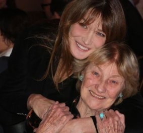Η μητέρα της Κάρλα Μπρούνι ''καίει'' την Γαλλίδα καλλονή: Την έκανα με τον 19χρονο γιο του εραστή μου - Κυρίως Φωτογραφία - Gallery - Video