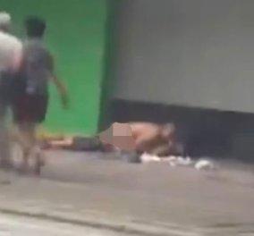 Live Leak βίντεο: Ασυγκράτητο.... ζευγάρι έκανε έρωτα πάνω στο πεζοδρόμιο - Κυρίως Φωτογραφία - Gallery - Video
