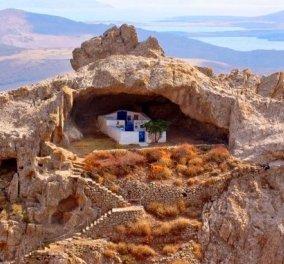Εκπληκτικές φωτό: Ο μοναδικός ασκεπής ναός στον κόσμο -Βρίσκεται στην Λήμνο & εντυπωσιάζει  - Κυρίως Φωτογραφία - Gallery - Video