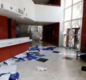 Σοβαρά επεισόδια στις φοιτητικές εκλογές: Επιθέσεις σε Νομική, Πάντειο & Παιδαγωγικό - 2 φοιτητές τραυματίες - Κυρίως Φωτογραφία - Gallery - Video
