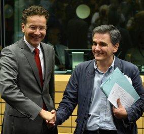 """Βίντεο από το τέλος του κρίσιμου Eurogroup: """"Είχαμε την πρώτη συζήτηση για την ελάφρυνση του χρέους της Ελλάδας""""   - Κυρίως Φωτογραφία - Gallery - Video"""
