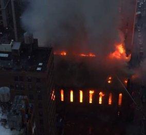 Νέα Υόρκη: Στις φλόγες τυλίχθηκε ορθόδοξη εκκλησία ανήμερα του Πάσχα - 700 άτομα ήταν εκεί λίγο νωρίτερα   - Κυρίως Φωτογραφία - Gallery - Video