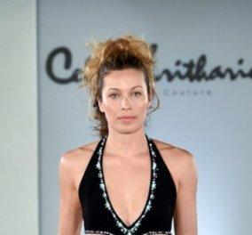 Σίλια Κριθαριώτη: Με υπέροχο μίνι η Μαριέττα Χρουσαλά ξανά στην πασαρέλα για φιλανθρωπικό σκοπό  - Κυρίως Φωτογραφία - Gallery - Video