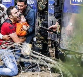 Νέα ένταση στην Ειδομένη: Προσπαθούν να πείσουν τους πρόσφυγες να ανοίξουν την σιδηροδρομική γραμμή - Κυρίως Φωτογραφία - Gallery - Video