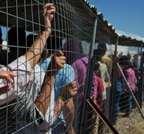 Ολοκληρώθηκε σε πρώτη φάση η μεταφορά προσφύγων από την Ειδομένη: Μεταφέρθηκαν 2.000 - Συνέχεια την Τετάρτη - Κυρίως Φωτογραφία - Gallery - Video