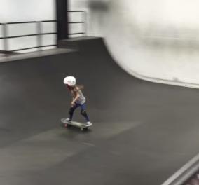 Μια απίθανη 6χρονη που εντυπωσιάζει με τις ικανότητές της στο skateboard (Βίντεο)   - Κυρίως Φωτογραφία - Gallery - Video