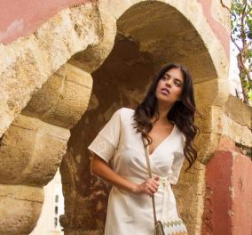 Αποκλ. Made in Greece η KLOTHO: Πώς μια Κρητικιά δημιουργεί παγκόσμιο brand resort wear από τους αργαλειούς των γιαγιάδων - Κυρίως Φωτογραφία - Gallery - Video