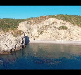 Eκπληκτικό: Δείτε τα Κύθηρα από ψηλά σε ένα εντυπωσιακό video με drone - Κυρίως Φωτογραφία - Gallery - Video