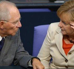 Μέρκελ σε Σόιμπλε: «Βόλφγκανγκ, να εκταμιευτεί η δόση για την Ελλάδα την Τρίτη 24 Μαΐου» - Τι γράφει η Suddeutsche Zeitung - Κυρίως Φωτογραφία - Gallery - Video