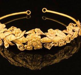 Αρχαίο ολόχρυσο ελληνικό στεφάνι βρήκε Βρετανός κάτω από το κρεβάτι του: Άλαλος έμεινε ο εκτιμητής! Φώτο   - Κυρίως Φωτογραφία - Gallery - Video