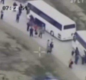 Βίντεο: Δείτε την επιχείρηση εκκένωσης της Ειδομένης από το ελικόπτερο της ΕΛΑΣ  - Κυρίως Φωτογραφία - Gallery - Video