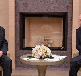 To τηλεφώνημα Πούτιν σε Παυλόπουλο: Τι είπαν οι 2 άντρες μετά την επίσημη επίσκεψη του ισχυρού Ρώσου  - Κυρίως Φωτογραφία - Gallery - Video