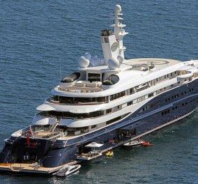 Στη Μύκονο το σκάφος - παλάτι 300 εκ του Εμίρη του Κατάρ - Περσικά χαλιά,πινάκες Πικάσο   - Κυρίως Φωτογραφία - Gallery - Video
