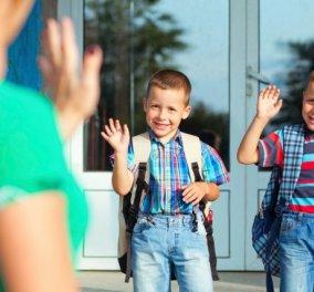 7 φράσεις που πρέπει να λέτε στο παιδί σας πριν ξεκινήσει για το σχολείο - Κυρίως Φωτογραφία - Gallery - Video
