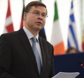 Ντομπρόβσκις: Ελπίζουμε σε ένα σημαντικό βήμα για την ολοκλήρωση της αξιολόγησης - Κυρίως Φωτογραφία - Gallery - Video