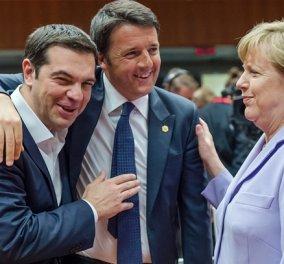 Μέρκελ: Δεν μπορούμε να εγκαταλείψουμε την Ελλάδα & την Ιταλία στο προσφυγικό- Θα κάνω ότι μπορώ  - Κυρίως Φωτογραφία - Gallery - Video