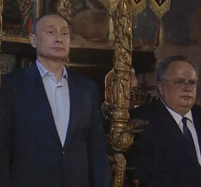 Το προσκύνημα του Ρώσου Προέδρου Βλαντιμίρ Πούτιν στο Άγιο Όρος (φωτό & βίντεο) - Κυρίως Φωτογραφία - Gallery - Video