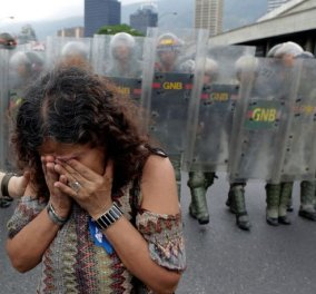 Χάος στη Βενεζουέλα - Διαδηλώσεις και λεηλασίες - Σε κατάσταση έκτακτης ανάγκης για άλλους 3 μήνες - Κυρίως Φωτογραφία - Gallery - Video