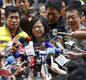 Top Woman η Τσάι Ινγκ: Η πρώτη γυναίκα πρόεδρος της Ταϊβάν - Κυρίως Φωτογραφία - Gallery - Video