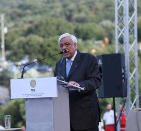 Ο Πρόεδρος της Δημοκρατίας, Προκόπης Παυλόπουλος εγκαινίασε το Μουσείο της Αρχαίας Ελεύθερνας - Φώτο  - Κυρίως Φωτογραφία - Gallery - Video