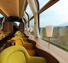 Το φουτουριστικό διαφανές τρένο της Ιαπωνίας είναι χάρμα οφθαλμών - Δείτε φωτό & βίντεο - Κυρίως Φωτογραφία - Gallery - Video