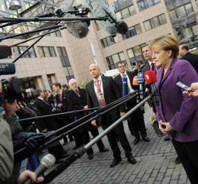 Μέρκελ κατευνάζει τα πνεύματα: Οι πολιτικοί στο Λονδίνο να μπορούν να επανεξετάσουν τις συνέπειες εξόδου - Κυρίως Φωτογραφία - Gallery - Video