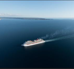 Tόσο εντυπωσιακό! Carnival Vista - O brand new γίγαντας κρουαζιερόπλοιο πάνω στον Πειραιά - Δείτε φωτό & βίντεο - Κυρίως Φωτογραφία - Gallery - Video