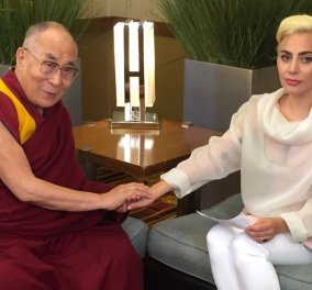 Κίνα: Απαγορεύεται στην Lady Gaga να μας επισκεφθεί μετά την συνάντηση της με τον Δαλάι Λάμα - Κυρίως Φωτογραφία - Gallery - Video