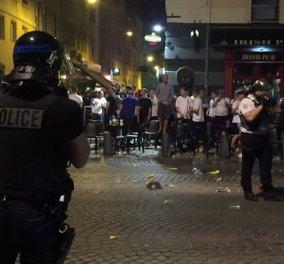 Euro 2016- Άρχισαν τα όργανα: Βίαιες συμπλοκές Άγγλων φιλάθλων με Γάλλους - Στην σκιά τρομοκρατίας & απεργιών η πρεμιέρα - Κυρίως Φωτογραφία - Gallery - Video