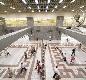 Κλειστός ο σταθμός του μετρό στο Σύνταγμα από τις 18:00 λόγω της επίσκεψης του Βάλς  - Κυρίως Φωτογραφία - Gallery - Video