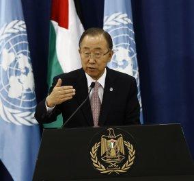 Στη Λέσβο για τους πρόσφυγες στις 18 Ιουνίου ο Γεν. Γραμματέας του ΟΗΕ Μπαν Κι Μουν   - Κυρίως Φωτογραφία - Gallery - Video